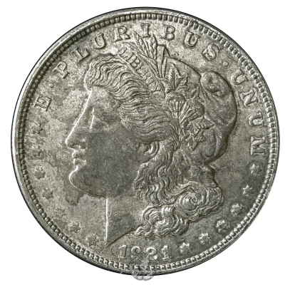 1 $ :: 1921 :: Philadelphia  (MORGAN)